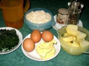 Plätzchen/Pikant - Kräuterplätzchen... lecker mit Tomatendip - Rezept