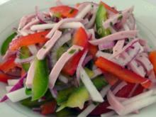 Deftiger Wurstsalat - Rezept