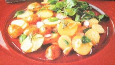Kartoffeln - Neue Kartoffeln in Kräuteröl - Rezept