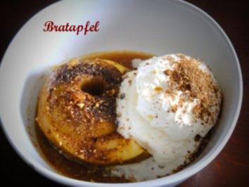 Mikrowellen - Bratapfel - Rezept