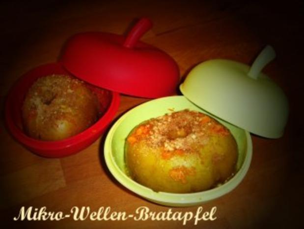 Mikrowellen - Bratapfel - Rezept - Bild Nr. 3