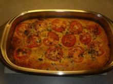 Aufläufe: Eier-Thunfisch-Gemüse-Auflauf - Rezept