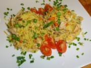 Reispfanne mit Huhn und Gemüse - Rezept