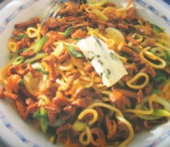 Pasta - Pfifferlinge mit Spätzle - Rezept