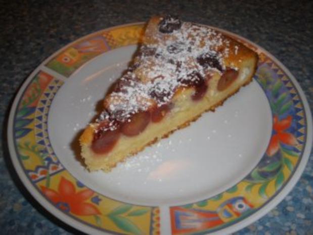 Kirsch - Topfen - Kuchen - Rezept