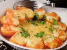 Gratin - Überbackene Käse-Kartoffeln - Rezept