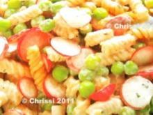 Salat - Nudelsalat mit Kressemayonnaise - Rezept