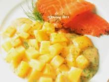 Fisch - Dill-Kartoffeln mit Räucherlachs - Rezept