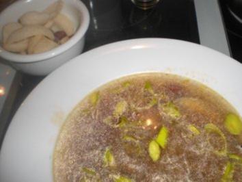 Scharfe Rindfleischsuppe mit Glasnudeln - Rezept