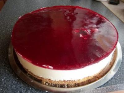 Zitronen-Quark-Sahne-Torte - Rezept