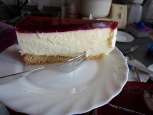Zitronen-Quark-Sahne-Torte - Rezept - Bild Nr. 2