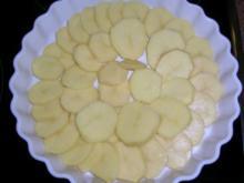 Kartoffelgratin mit Prosciutto, Beilage zu meinem Rinderbraten in Bordeaux - Rezept