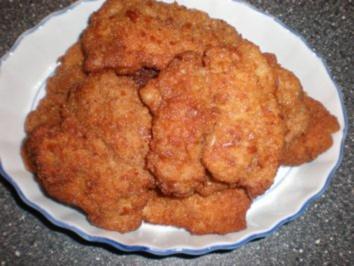 Schnitzel mit Nusspanade - Rezept