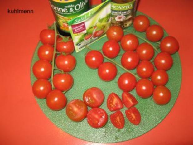 Tomatensalat mediterran - Rezept - Bild Nr. 2