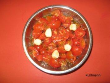Tomatensalat mediterran - Rezept