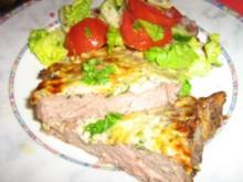 Rinderhüftsteak unter einer Kräuter-Parmesan-Kruste - Rezept