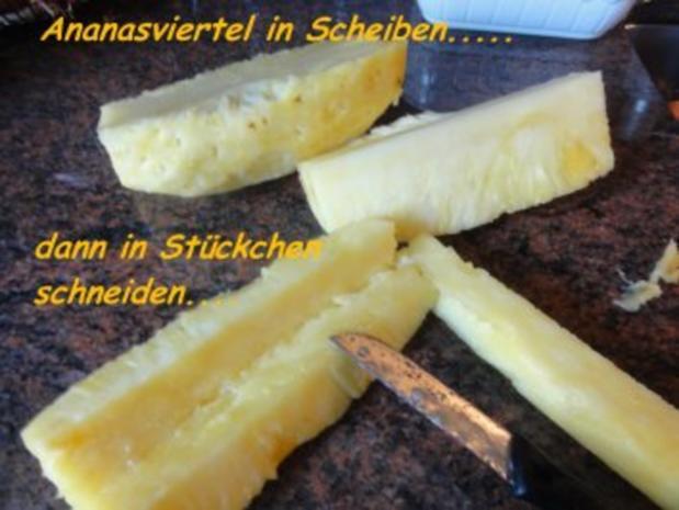 Dessert:  SCHOKOPUDDING mit frischer Ananas - Rezept - Bild Nr. 4
