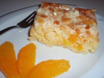 Auflauf: Orangen-Reis-Auflauf - Rezept