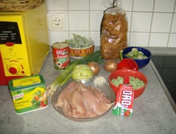 Tomatige Nudelpfanne kreuzundquer - Rezept - Bild Nr. 2