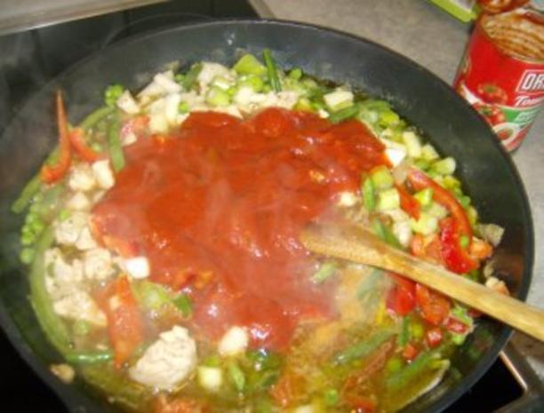 Tomatige Nudelpfanne kreuzundquer - Rezept - Bild Nr. 7