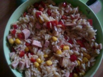 Türkisch, griechischer  Reisnudelsalat - Rezept
