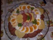 Eine Brottorte für meine Schwägerin - Rezept