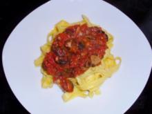 Pasta: Fettucine al puttanesca - Rezept