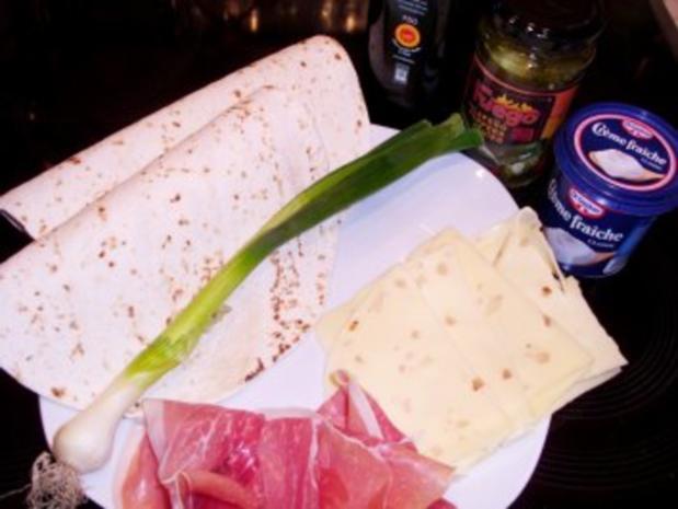 Snack: Quesadilla con serrano - Rezept - Bild Nr. 2