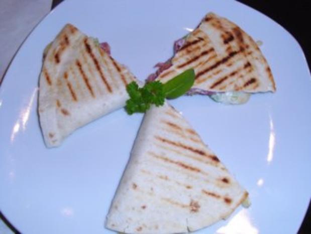 Snack: Quesadilla con serrano - Rezept - Bild Nr. 6