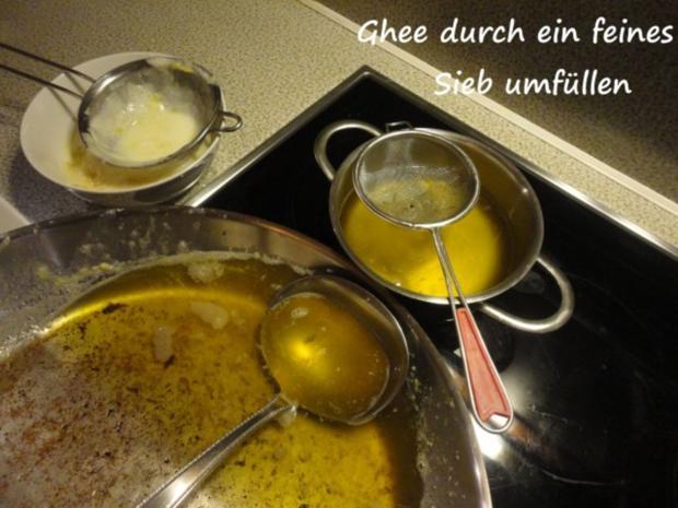 Ghee oder geklärte Butter - Rezept - Bild Nr. 7