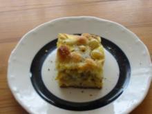 Streuselkuchen ins kalte Wasser - Rezept