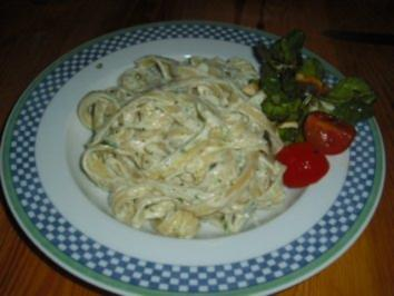 3-Käse-Spaghetti - Rezept