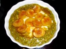 Desserts: Griechischer Pistazienjoghurt mit Honigfeigen - Rezept
