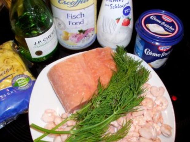 Pasta: Fettucine in Crema di salmone - Rezept - Bild Nr. 2