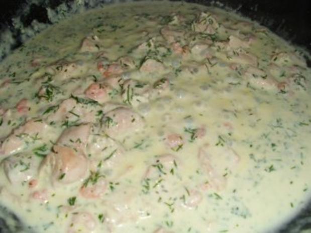 Pasta: Fettucine in Crema di salmone - Rezept - Bild Nr. 4