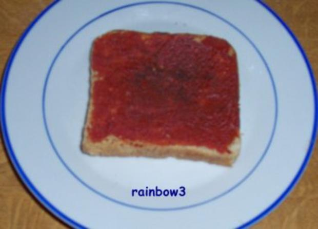 Zwischensnack: Toast, fruchtig und überbacken - Rezept - Bild Nr. 2