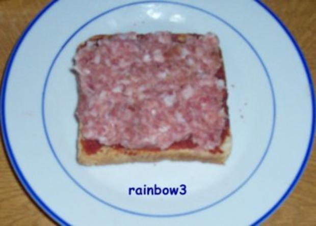Zwischensnack: Toast, fruchtig und überbacken - Rezept - Bild Nr. 3
