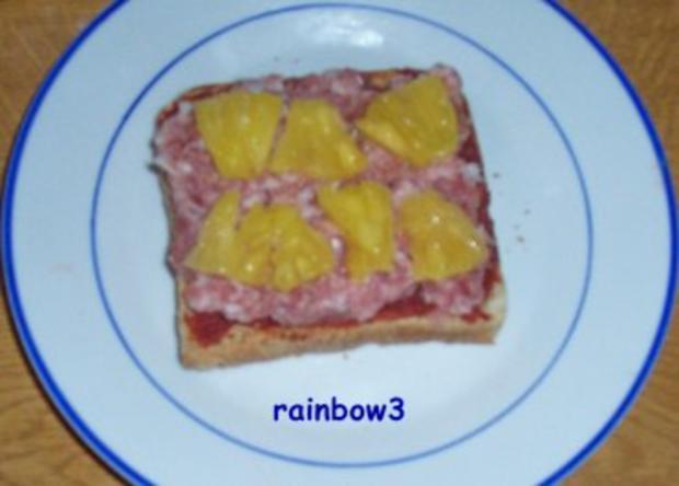 Zwischensnack: Toast, fruchtig und überbacken - Rezept - Bild Nr. 4