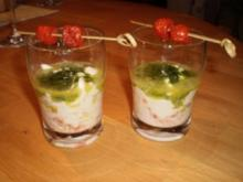Büffelmozzarella mit Bärlauchöl - Rezept
