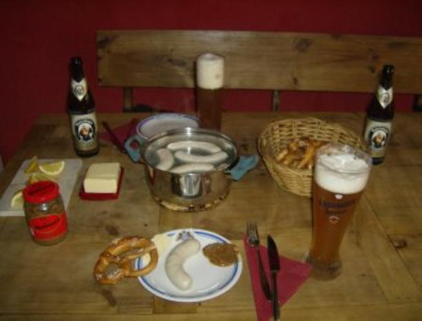 Bayerisches Früstück oder Frühschoppen - Rezept