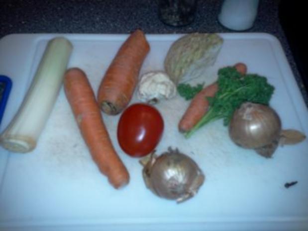 Rindfleischsuppe - gibt's auch ohne Tüte :-) - Rezept - Bild Nr. 4