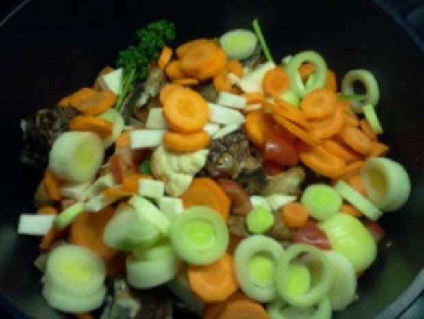 Rindfleischsuppe - gibt's auch ohne Tüte :-) - Rezept - Bild Nr. 6