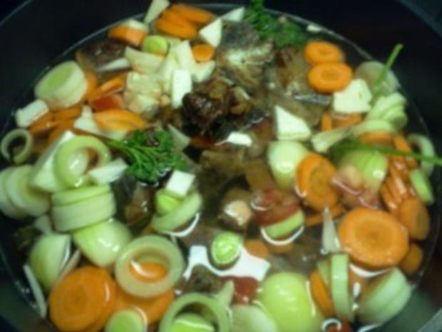 Rindfleischsuppe - gibt's auch ohne Tüte :-) - Rezept - Bild Nr. 7