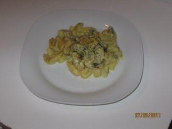 Rezept: Curry - Geschnetzeltes mit Ananas