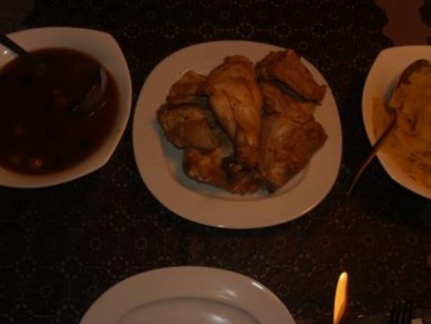 Fleischgerichte: Kaninchen in Olivensosse - Rezept - Bild Nr. 6
