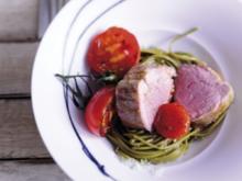 Kalbsfilet in Keemuntee geräuchert - Rezept