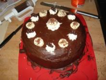 Bananen-Schokoladen-Torte - Rezept