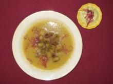 Zucchinisuppe mit Avocado-Creme und Kräutercroutons - Ubierring - Rezept