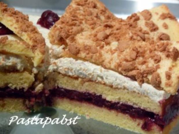 Amaretti-Kirsch-Torte - Rezept - Bild Nr. 3