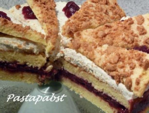 Amaretti-Kirsch-Torte - Rezept - Bild Nr. 4